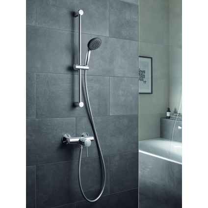 Grohe doucheset Vitalio Start 100mm 2 stralen chroom