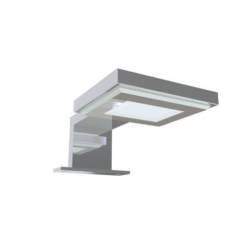 Eclairage Allibert LED cube simple chrome 2,5 W