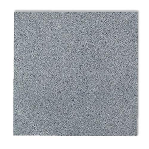Dalle en granite Coeck brûlé et brossé 40 x 40 x 2 cm gris