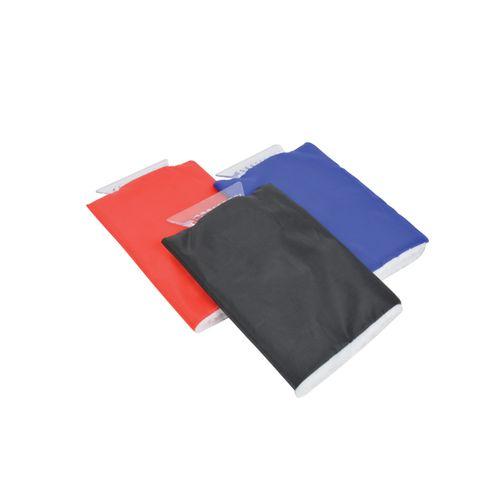 Carpoint ijskrabber met handschoen blauw