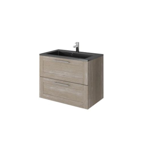 Meuble sous-lavabo Allibert 'Coventry' 80 cm