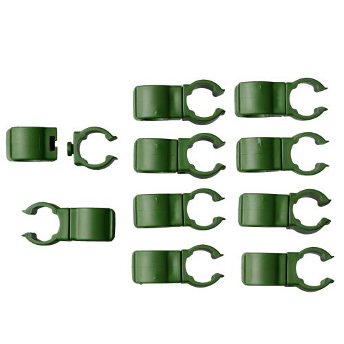 Connecteur clips Nature Ø 16 mm – 10 pcs