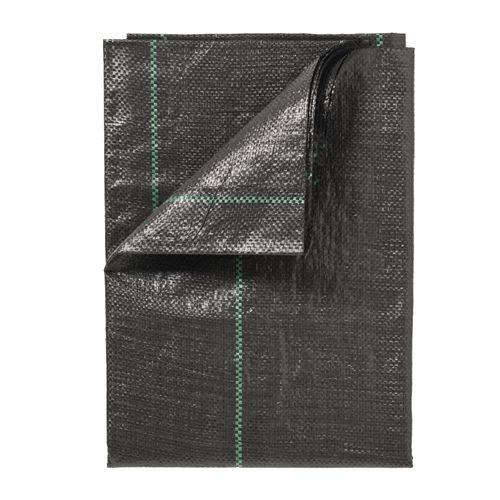Nature gronddoek zwart 5,2 x 5 m