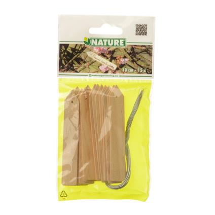 Etiquettes à planter Nature 10 cm – 15 pcs