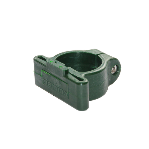 Collier pour poteau profilé Giardino vert - 6 pcs