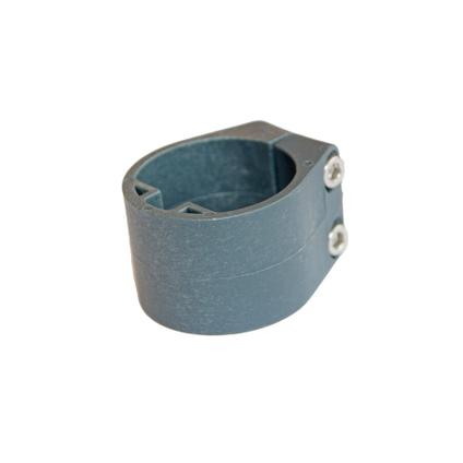 Collier de coin pour poteau profilé Giardino vert 48 mm - 6 pcs