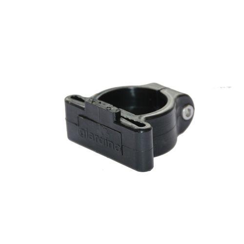 Giardino hoekklem voor profielpaal zwart  48 mm - 6 stuks