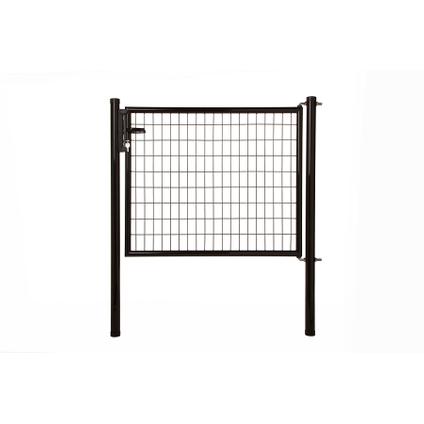 Napoli poort H120 L125cm zwart