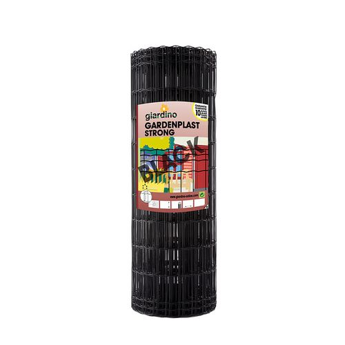 Grillage Giardino 'Gardenplast Strong' noir 25 x 1 m