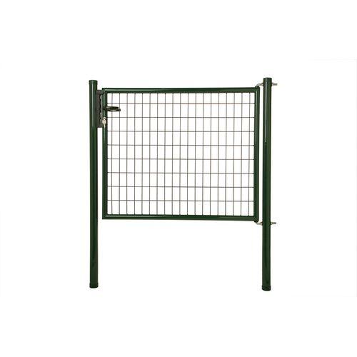 Giardino enkele poort H 170 x L 125cm groen