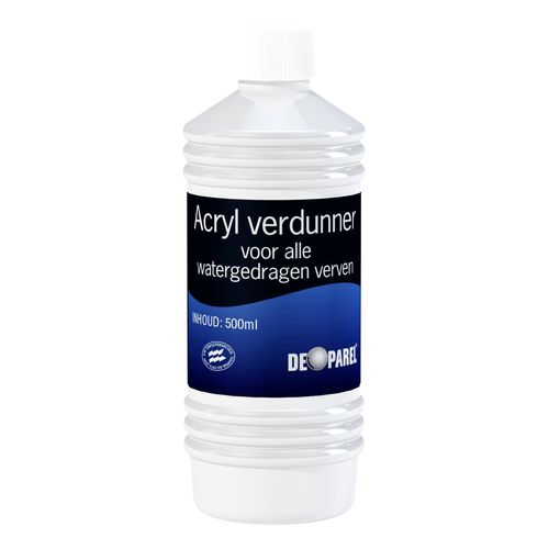 De Parel acrylverdunner 500 ml