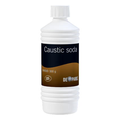 De Parel ontstopper Caustic Soda 500 ml