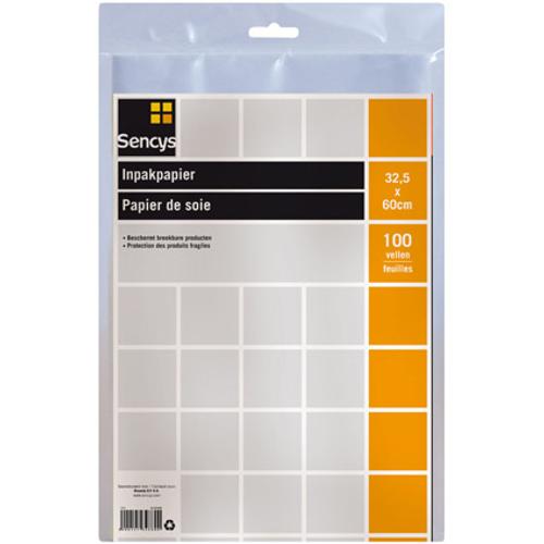 Papier d'emballage Sencys - 100 feuilles
