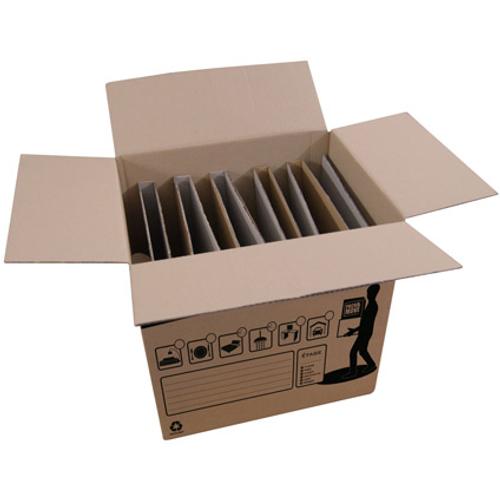 Boite croisillons pour assiettes Pack & Move 50L