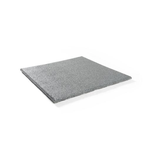 Decor rubberen tegel grijs 50 x 50cm 0,25m²