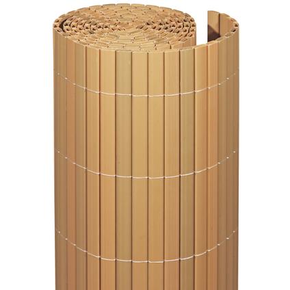 Videx balkonscherm kunststof teak 90x300cm