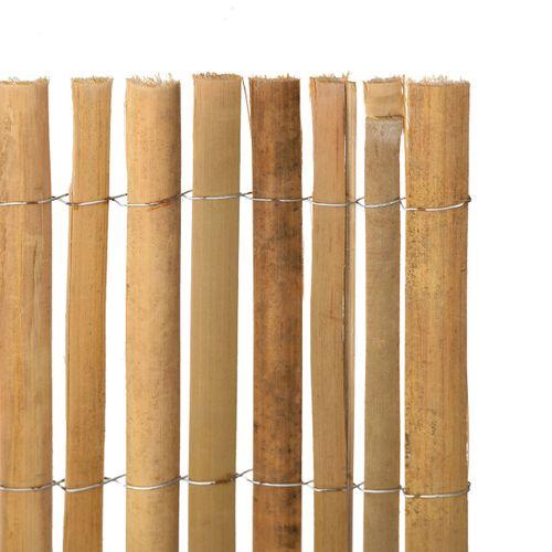 Videx balkonscherm Split bamboe 90x300cm