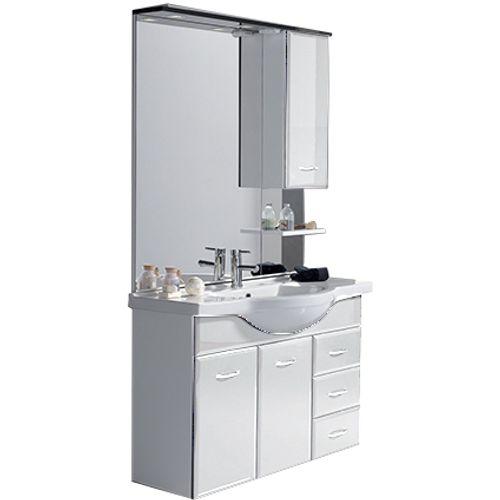 Meuble de salle de bain 'Fiësta' blanc 105cm