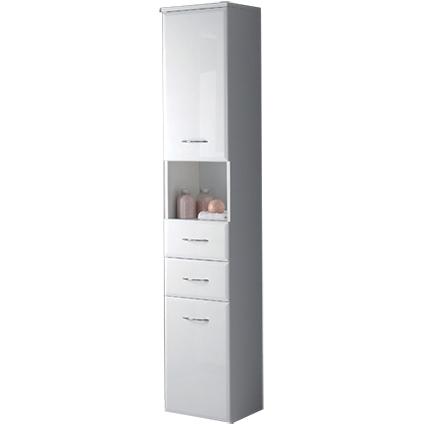 Kolomkast 'Fiësta' rechts wit 190cm
