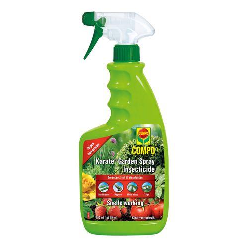 Compo insectenbestrijder Karate Garden spray 750ml