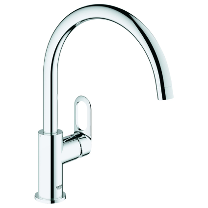 Grohe keukenmengkraan Start Loop chroom