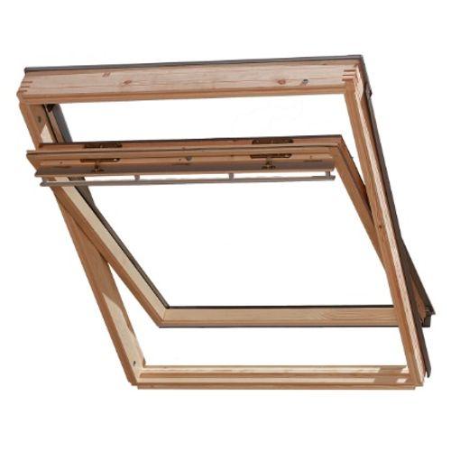 Fenêtre de toit à rotation manuelle Velux 'GGL UK04 3070' 134 x 98 cm