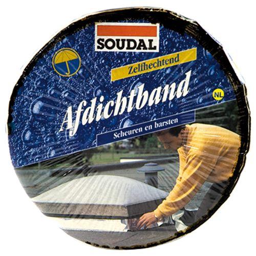 Soudal afdichtingsband 'Soudaband' alu 0,1mx10m