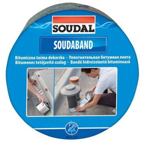 Soudal afdichtingsband 'Soudaband' graphit 22,5x10m