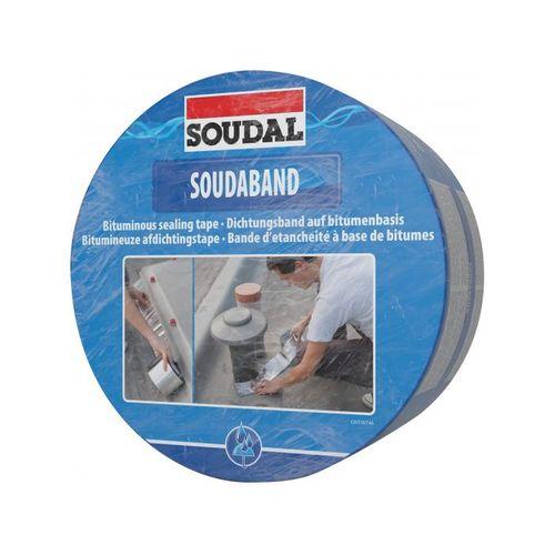 Soudaband afdichtingstape buigzaam aluminium 22,5cm