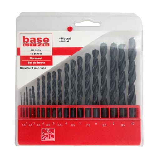 Baseline borenset – 19 stuks