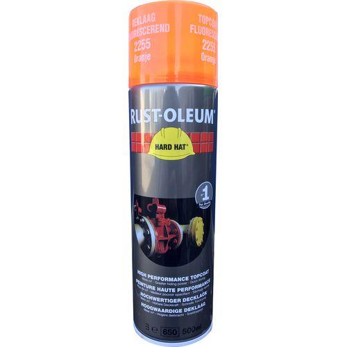 Rust-oleum Hard Hat® 2200 industriële spuitbus fluorescerend oranje 500ml