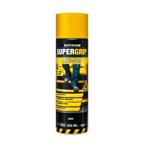 Aérosol antidérapant Rust-oleum Supergrip® jaune 500ml
