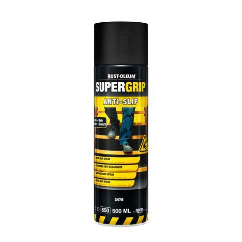 Aérosol antidérapant Rust-oleum Supergrip® noir 500ml