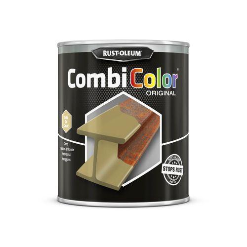 Rust-oleum Combicolor antiroest primer en finish goud 750ml