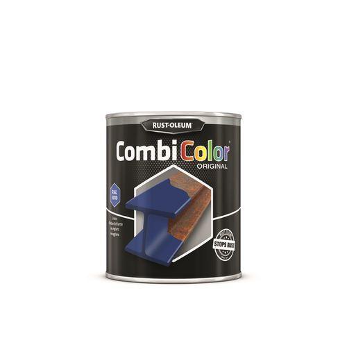 Rust-oleum Combicolor antiroest primer en finish outremer blauw 750ml