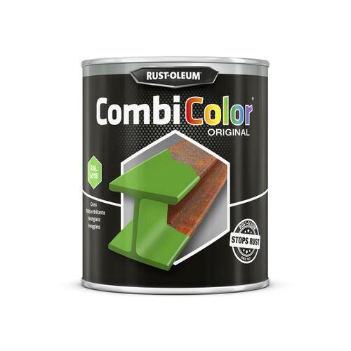 Peinture Rust-Oleum 'Combi Color' vert deutz brillant 750ml