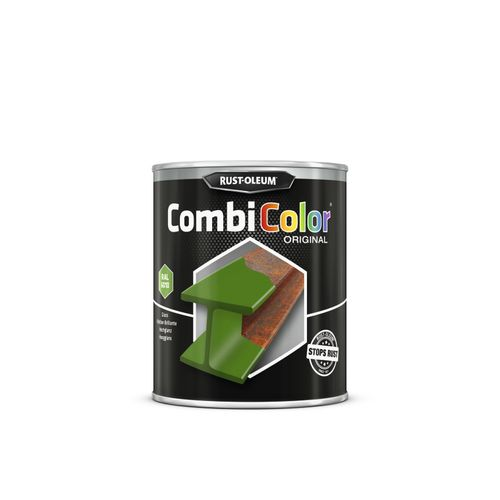 Peinture Rust-Oleum 'Combi Color' vert bekaert brillant 750ml