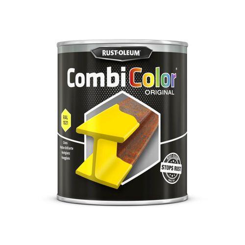 Rust-oleum Combicolor antiroest primer en finish koolzaad geel 750ml