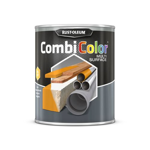 Rust-oleum Combicolor antiroest primer en finish geel veiligheid 750ml