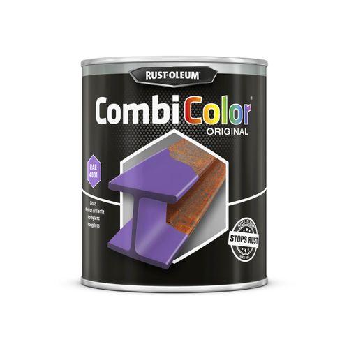 Rust-oleum Combicolor antiroest primer en finish lila rood 750ml