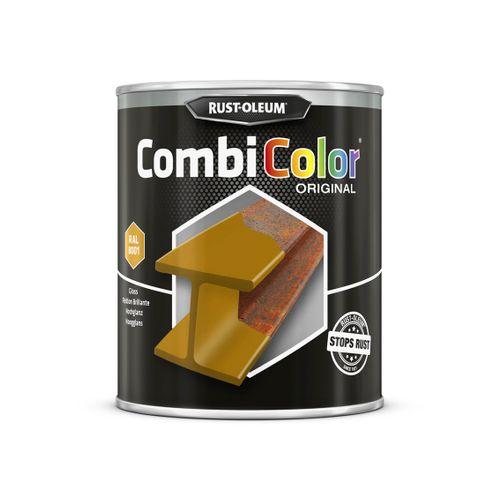 Rust-oleum Combicolor antiroest primer en finish okerbruin 750ml