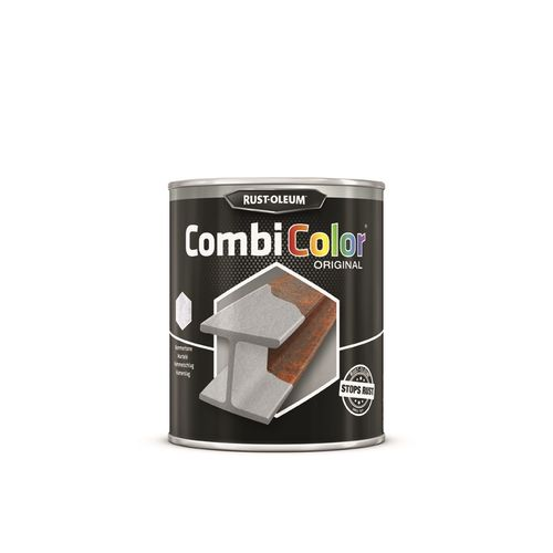 Rust-oleum Combicolor antiroest primer en finish licht grijs 750ml
