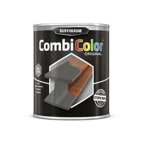 Rust-oleum Combicolor antiroest primer en finish navy grijs 750ml