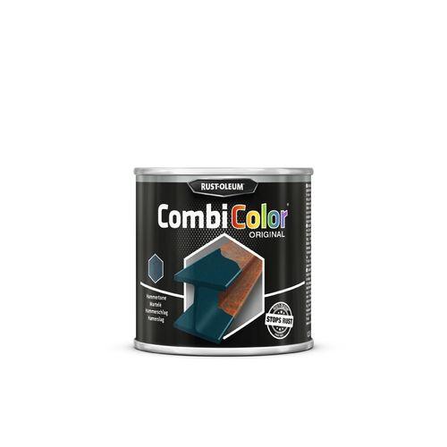 Peinture Rust-Oleum 'Combi Color' martelée bleu foncé 750ml