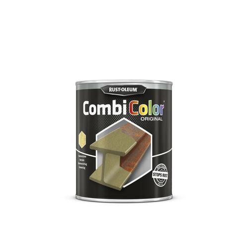 Peinture Rust-Oleum 'Combi Color' martelée or 750ml