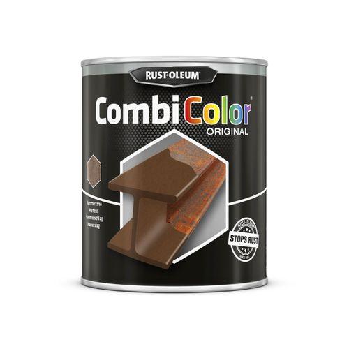 Rust-oleum Combicolor antiroest primer en finish gehamerd blauw 750ml