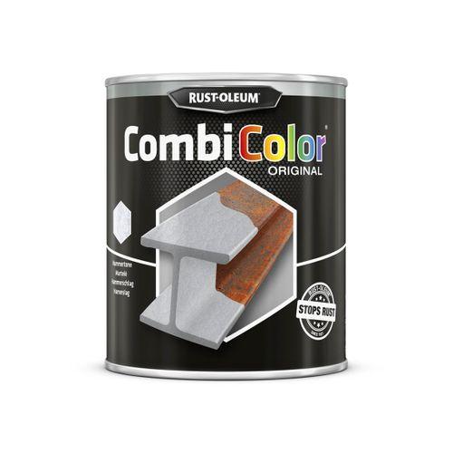 Peinture Rust-Oleum 'Combi Color' martelée gris foncé 750ml