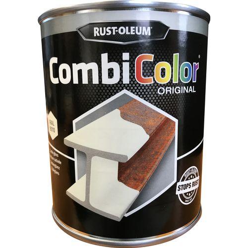 Rust-oleum Combicolor antiroest primer en finish wit zijdeglans 750ml