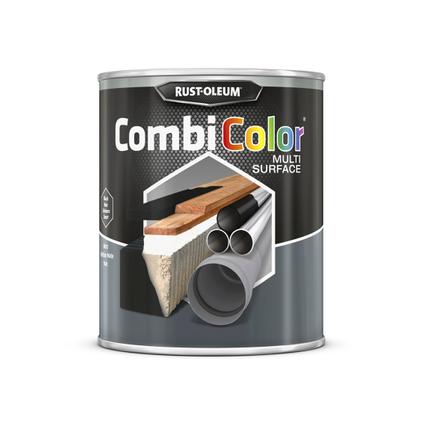 Peinture Rust-Oleum 'Combi Color' noir mat 750ml