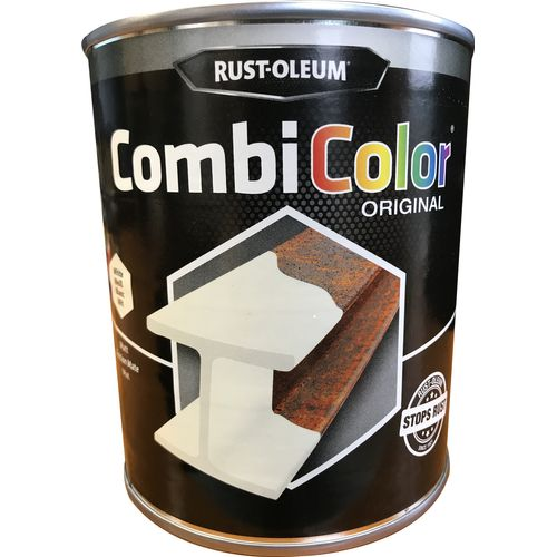 Rust-oleum Combicolor antiroest primer en finish wit mat 750ml